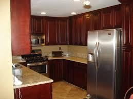 Kitchen Backsplash Cherry Cabinets by Interior Kitchen Backsplash Cherry Cabinets Black Counter Inside