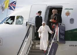 Il Papa in Bran Bretagna