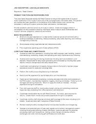 Essay Shoe Sales Associate Job Description   Gopitch co Sample Human Resources Recruiter Job Description