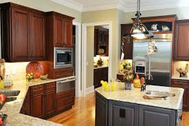 12 best ideas of dark kitchen cabinets with light wood floors