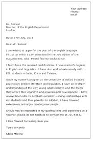 Resume Application For Job by 5 Example Of Formal Letter For Job Application Graphic Resume