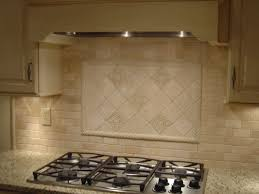 Kitchen Tile Backsplash Design Ideas Modren Kitchen Backsplash Over Stove View Full Size Throughout Ideas