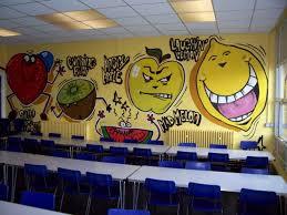 cool fruit wall murals for kindergarten classroom picture best