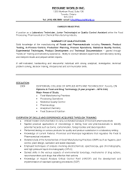 Chemist Resume Samples by Pharmaceutical Quality Control Resume Sample Free Resume Example