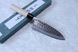 tojiro hammered black finshed kurouchi japanese high carbon steel