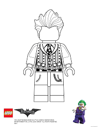 joker lego batman movie coloring pages printable