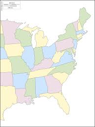 Blank Us Map Pdf by East Coast Of The United States Free Map Free Blank Map Free