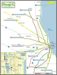 Chicago Suburbs Map Chicago U0027s Railroad Stations Railfan Guides Of The Us