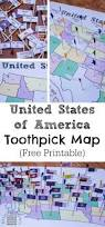 United States Map Delaware by United States Of America Toothpick Map Researchparent Com