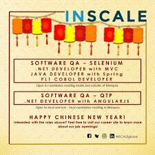 Job Resume Malaysia by Inscale Global Linkedin