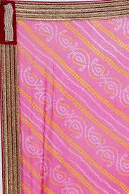 sudarshan colorful designer saree pink mys39 mn synthetic