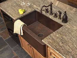 sinks outstanding copper farmhouse sink lowes copper farmhouse