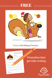 funny thanksgiving stories for kids free funny fall writing prompts to get kids writing psychowith6