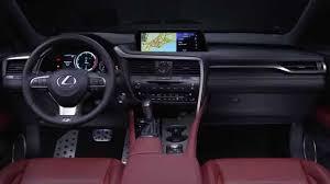 lexus rx 350 pictures 2016 lexus rx 350 f sport interior design automototv youtube