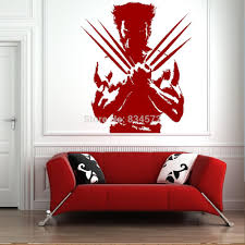 Home Decor Walls Home Decor Wall Sticker The Wolverine Xmen Dc Comic Cool Boys Wall