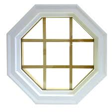 shop awsco octagon replacement window rough opening 22 in x 22