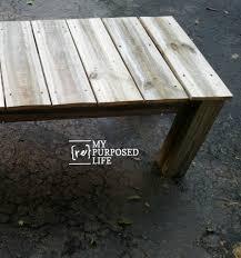 Repurposed Coffee Table by Reclaimed Wood Coffee Table My Repurposed Life