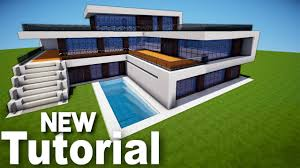 minecraft how to build a realistic modern house best mansion