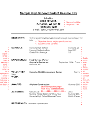Student Resume Examples No Experience by Sample High Resume No Work Experience Free Resume Example
