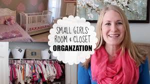 budget organizing small girls u0027 room u0026 closet youtube