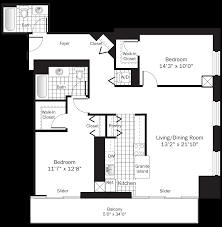 Earth Contact House Plans Chicago River North Apartments Grand Plaza Apartments