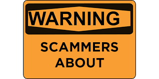 Warning scammers