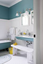 Wainscoting Ideas Bathroom by Bathroom Endearing Nautical Blue Small Bathroom Decoration Using