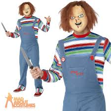 female chucky fancy dress halloween childs play ladies