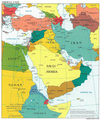 Map Of Europe And Africa by Map Of Middle East