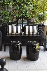 Outdoor Living Furniture by Best 25 Black Outdoor Furniture Ideas On Pinterest Black Rattan
