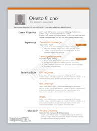 Best It Resume Sample by Free Resume Templates Sample Format Of Nurses Best Cv For