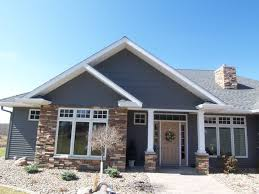 Free Online Exterior Home Design Tool by Rustic Modern House Design With Stone Wall Exterior And Mounted
