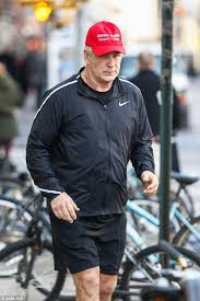 Comedic copy cat  Alec Baldwin was spotted wearing a Russian knock off of President Daily Mail