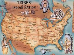 Big Map Of The United States by Large Native American Map Usa United States Of America North