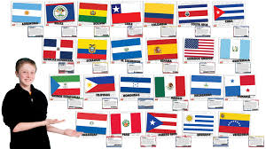 Spanish Speaking Countries Blank Map Quiz by Flags Teacher U0027s Discovery