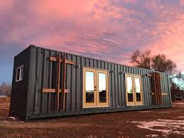 Tiny Homes California by The Intellectual U0027 Tiny Home Is A 40 Foot Container Loaded With