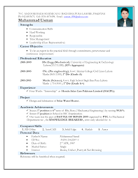 Cosmetology Resume Sample by Electro Mechanical Technician Resume Sample Http Www
