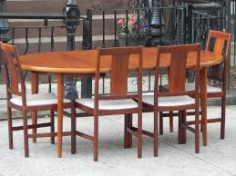 Teak Dining Room Set Sold Restored George Nelson Gate Leg Dining Table By Herman