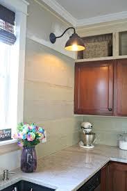 How To Put Backsplash In Kitchen My Unusual Backsplash Choice From Thrifty Decor