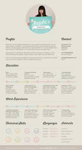 Examples Of Creative Resumes fantastic examples of creative resume designs creative cv