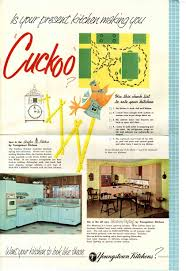 youngstown kitchen 1957 marketing material and a priceless video