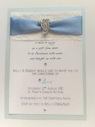 handmade christening invitations cards pinterest christening