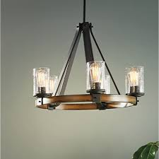 lowes kitchen ceiling light fixtures shop kichler lighting barrington 3 light distressed black and wood