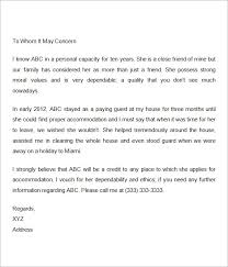 Sample Personal Reference Letter For University Admission   Cover     happytom co