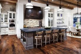 Long Kitchen Island Designs by Large Kitchen Island Cow Hollow Home Gets A Pro Makeover House