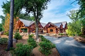 european style log homes house design plans