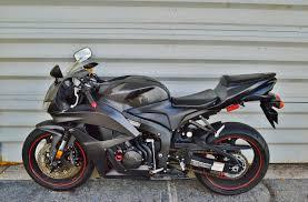honda cbr 600cc for sale 2008 honda cbr 600rr triple black carbon fiber real muscle