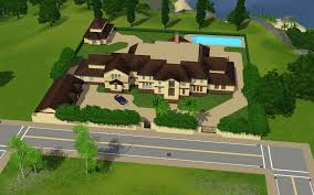 mansion floor plans sims nice house layouts cool gallery ideas and