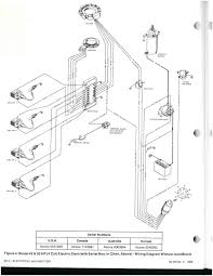 1983 mercury 50 hp 4 cylinder electric start wiring diagram page