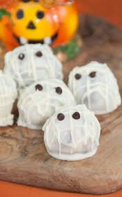 halloween mummy oreo truffles recipe oreo truffle and dishes